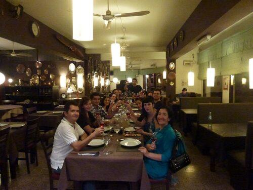 Fotos del Tour Gastronómico del 24 de abril