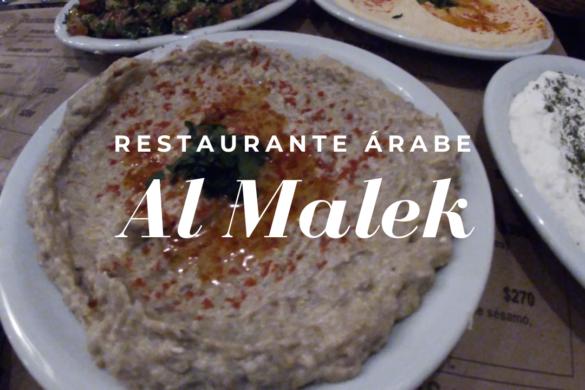 Al Malek, restaurante de cocina árabe